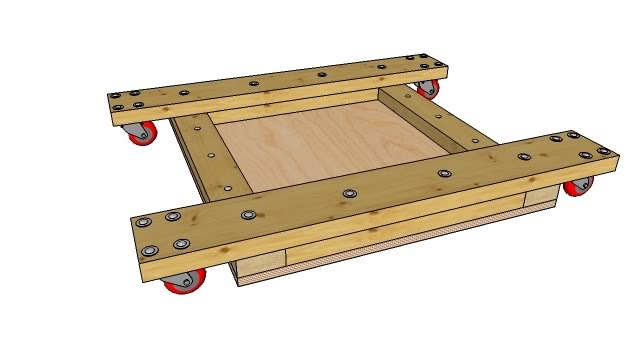 Craftsman Table Saw 2 Rolling Base To Build For The By